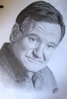 RIP Robin Williams :( by MagneticartAgnes