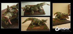 Gatordog Maquette by colonel-strawberry