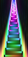 TA and the Technicolor Stairs by TwilightAmbiance