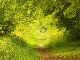 green path by sleepneverend
