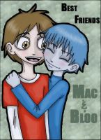 Mac and Bloo by Zombie-Pip