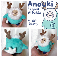 Legend of Zelda Anouki plush by SilkenCat