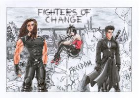 Fighters of Change by RafaDG