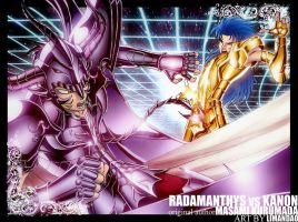 radamanthys VS kanon by limandao