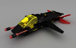 LEGO Invader Full Ship by zpaolo