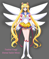 Sailor Moon Crystal - Eternal Version by SailorGigi