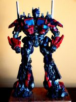 Optimus Prime by FritoFrito
