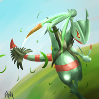 Mega Leaf Balde! by Visoris