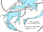 THE FREE DRAGONS by This-Chick-Does-Art