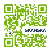 Personalised QR for Skanska by petrsimcik