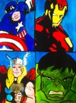 Avengers by DoctorWhovianLady