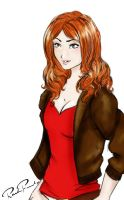 Amy Pond by Delusionist13
