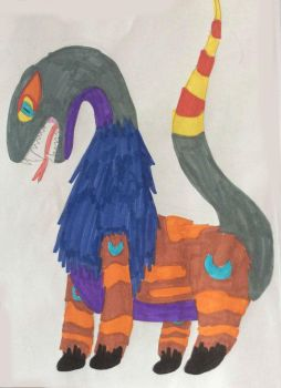 Vayamon 2- Questaron by Sia-the-Mawile