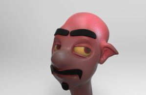 Zbrush doodle day 145 - Vince by UnexpectedToy