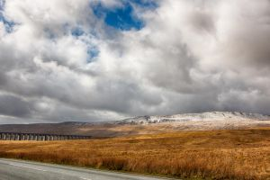 Landscape HDR of the Yorkshire Dales - March 2015 by Tiestarian