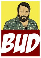 BUD SPENCER by vincent-grey
