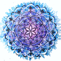 Watercolor Mandala by flexibledreams
