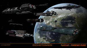 RAGTAG, FUGITIVE FLEET by archangel72367