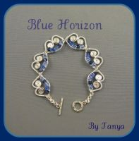 Blue Horizon  Bracelet by ringnebula
