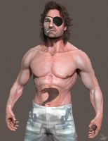 Snake Plissken 3D Model by FoxHound1984