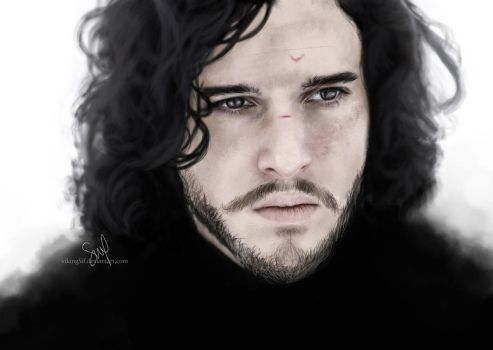 Jon Snow by VikingSif