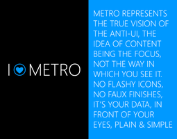 I Love Metro by clindhartsen