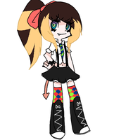 New look and a DEMON :RIBBON: by PewtridNymph