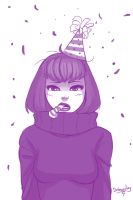 Birthday thanks from Sweatergirl by DrGraevling