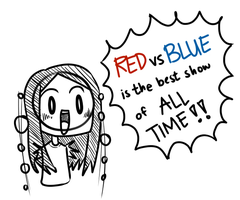 RvB is the best show of all time! by pferty