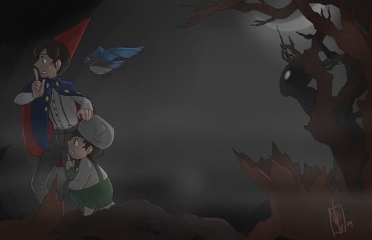 Over the Garden Wall: Beast by nhiwi