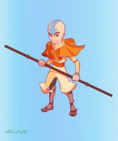 Avatar Aang by NorseChowder