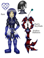 Kingdom Hearts OC Parit by ParitSentiment
