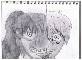 Eric and Insane Girl by ienzo628