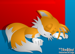 Tails Sleeping by thefoxbros