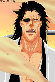 Bleach 572  Enter Badass  Zaraki Kenpachi by SimoDLuffy