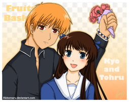 Comission: Kyo and Tohru by Joichiroll