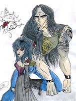 The Beauty and the Beast 2012 by DemonCartoonist
