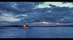 ...Maiden's Tower... by erhansasmaz