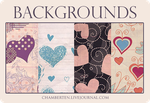 Valentines Day backgrounds by chambertin