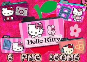 Hello Kitty Folders by Sammi879 by sammi879