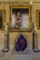 Chatsworth House - Clergy and Geode by LordMajestros