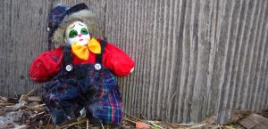 clown doll stock by porch 1 by porchstock