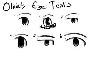 Olivia's Eye Tests by Youkah
