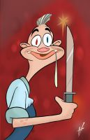 Careful with that knife Jimmy by HammersonHoek
