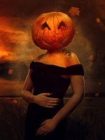 Mrs Pumpkin by Kryseis-Art