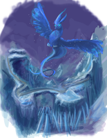 Pokemon: Articuno by Zelphyre