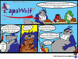 Papawolf comic 22 by NightCrestComics