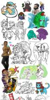 Dota 2 - sketch and nonsense by spidercandy