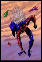 Spiderman 2099 by RedHand