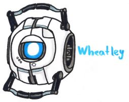 Wheatley by YouCanDrawIt